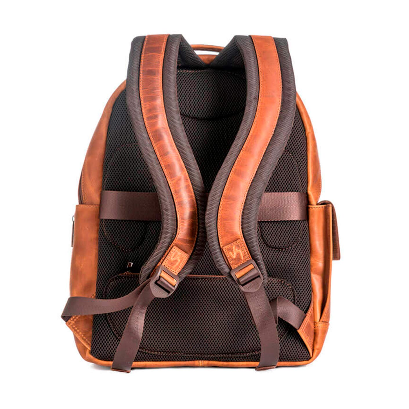 Amazon.com: Velez Colombian Mens Genuine Leather Backpack Bolsos Hombres Cuero Colombiano Black: Shoes