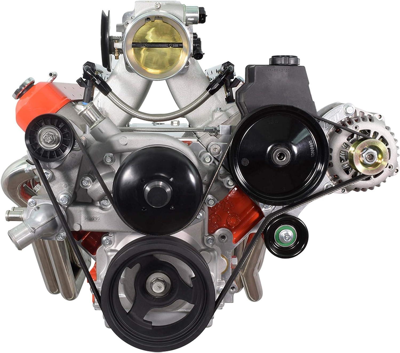 High Mount Truck Spacing LS1 Power Steering Alternator Bracket Kit 551577-3 LM7 LR4 LQ4 LS6 L59 LQ9 LM4 L33 LS2 LH6 L92 L76 LY2 LY5 LY6 LC9 LFA LH8 LMG LS3 L98 L9H L20 L94 LZ1 L99 L96 LC8 L77