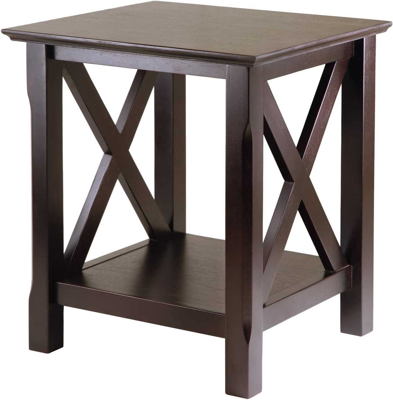 Winsome Wood 40420 Xola Occasional Table, Cappuccino