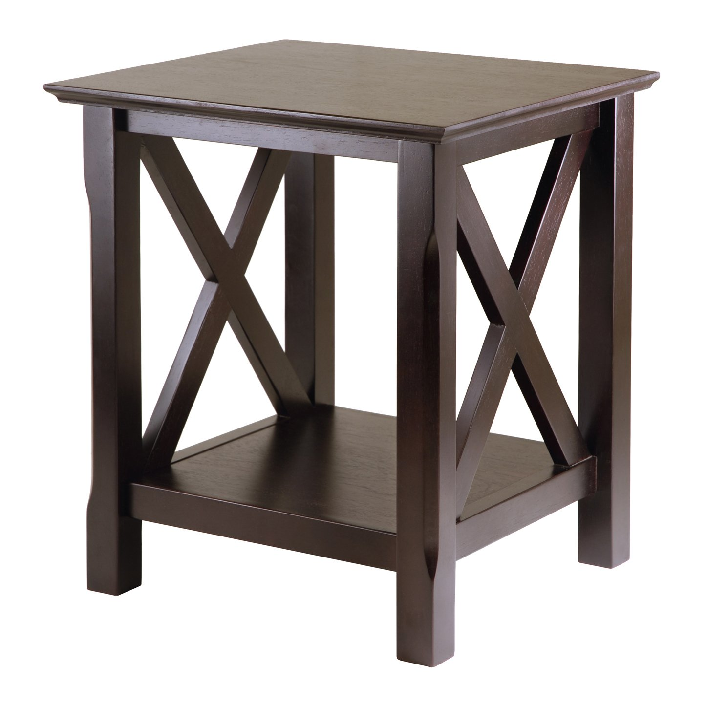 Winsome Xola Occasional Table, Cappuccino by Winsome