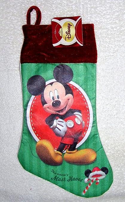 disney mickey mouse 15 felt christmas stocking - Mickey Mouse Christmas Stocking