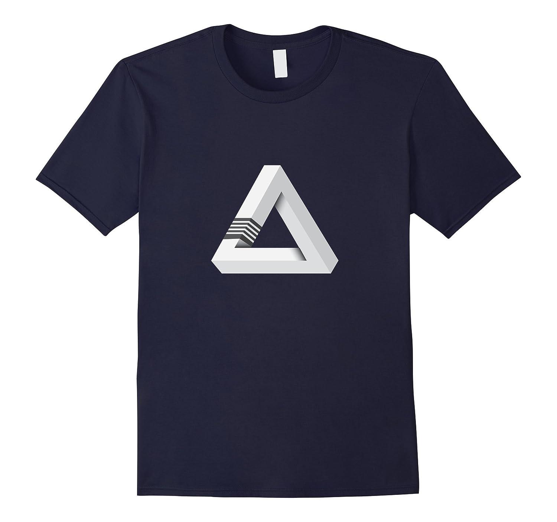 Tshirt – BJJ Brazillian Jiu-jitsu white belt – triangle