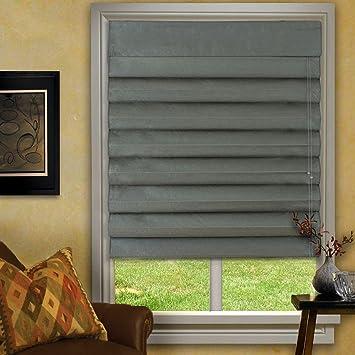 green roman shades kitchen waterfall roman shades green 23x72 amazoncom 23x72 home kitchen