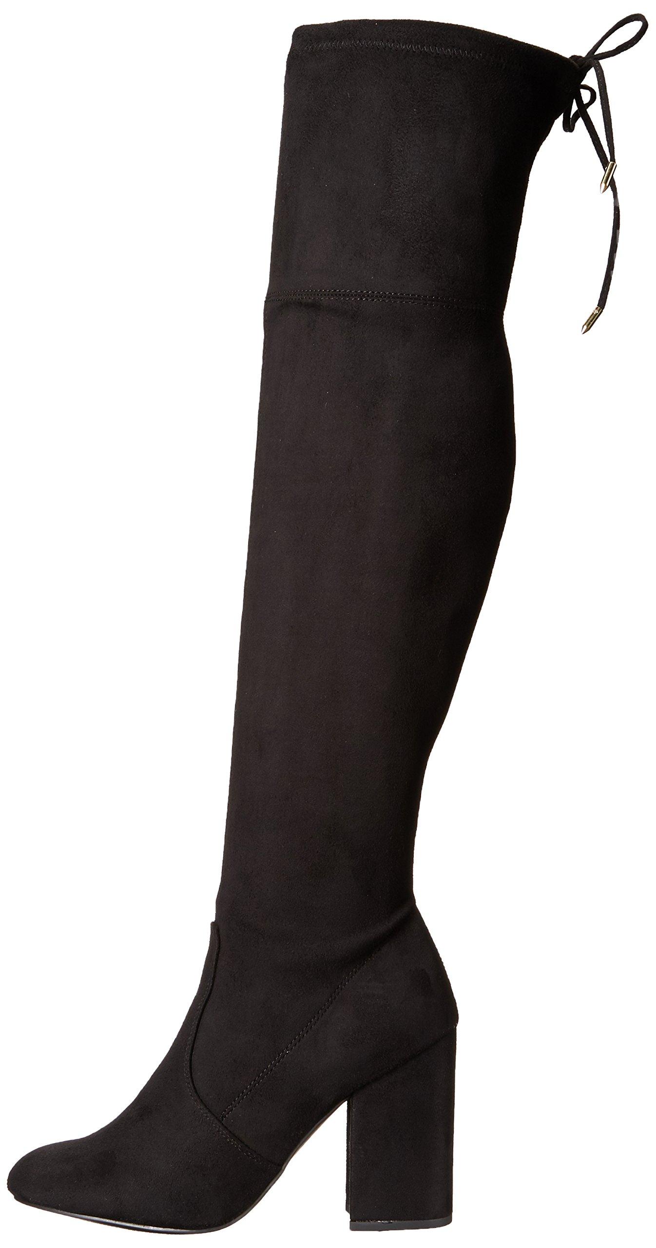 Steve Madden Women's Niela Over The Knee Boot, Black, 10 M US by Steve Madden (Image #5)