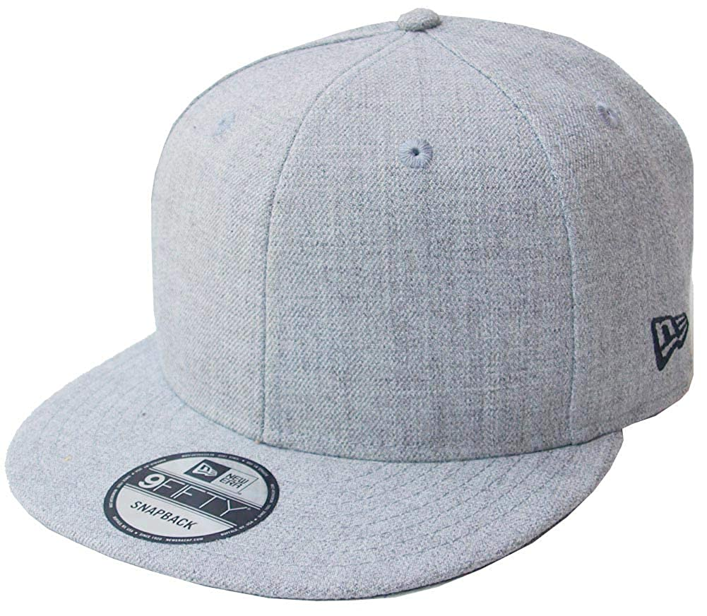 New Era Black White Blank Blanko 59Fifty 5950 Fitted Cap Cap Men/'s New