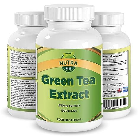 Extracto Puro de Té verde. El mejor suplemento para perder peso. Recomendado en el