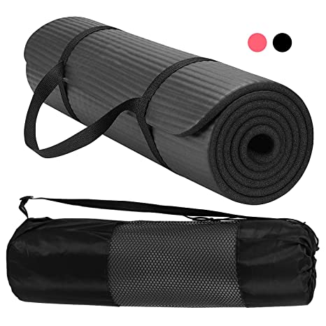 Amazon.com : RedSwing Thick Yoga Mat with Strap, High ...