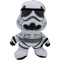 Star Wars for Pets Star Wars Plush Storm Trooper Figure Dog Toy | Soft Star Wars Squeaky Dog Toy | Medium, White FF11458