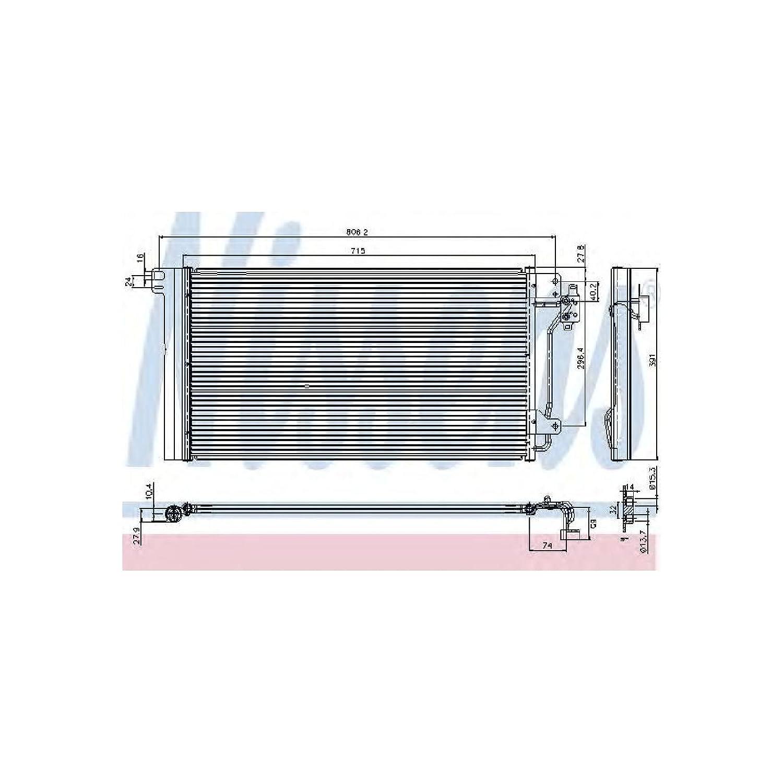 Nissens 94604 Klimakondensator