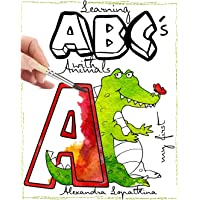 Learning Abc's with Animals: Best Learning Book for Your Kid