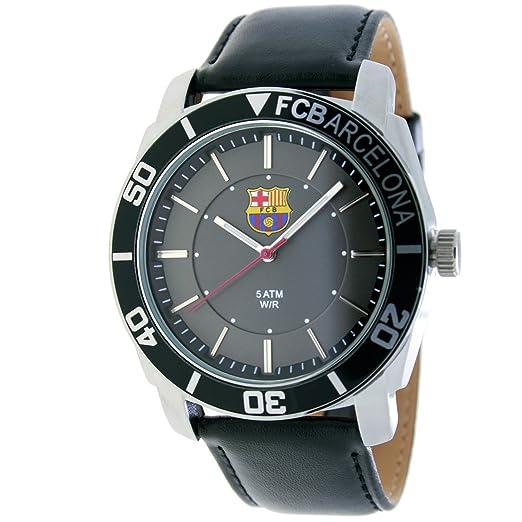 RADIANT Reloj analógico de caballero F.C.BARCELONA - Correa de piel - Negro - BA-11601 Journey: Amazon.es: Relojes