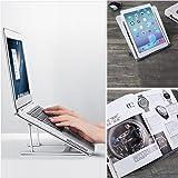 Folding Aluminum Macbook Stand HONGUO Universal 6