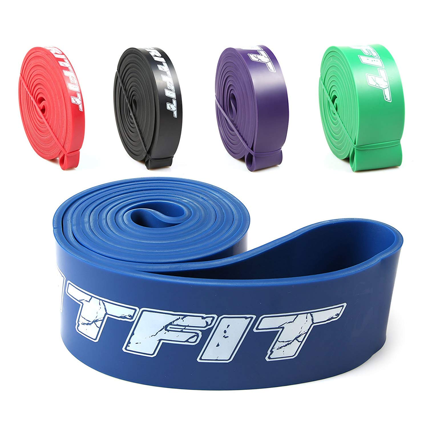 RitFit 41'' Pull Up Assist Band - Great for Pull-up Assistance, Resistance Exercise, Mobility, Stretch, Powerlifting Lowest Price - Starter e-Guide Included