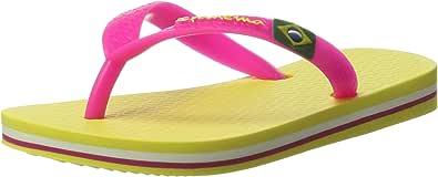 Ipanema Classica Brasil II Kids, Chanclas Unisex niños, Multicolor Amarillo y Rosa, 27/28 EU: Amazon.es: Zapatos y complementos
