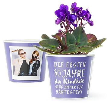 30 Geburtstag Geschenk Blumentopf O16cm Lustiges