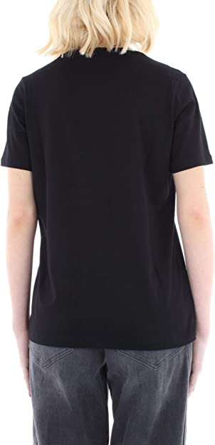 Michael Kors MH95MCE97J Camiseta Mujer Negro S: Amazon.es: Zapatos ...