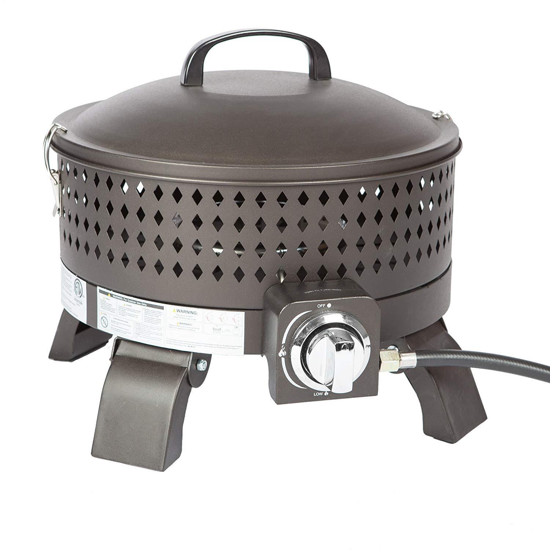 Mocha Fire Sense 62133 Sporty Campfire Portable Gas Fire Pit