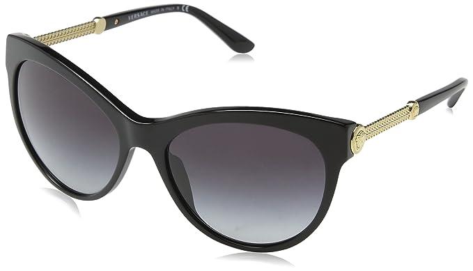 Versace 0Ve4292 Gafas de sol, Black, 57 para Mujer: Amazon ...