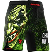 SMMASH Choker Professioneel Ultra Licht MMA Shorts voor Heren, Sport Shorts voor Mannen, Boxing, UFC, Crossfit, Gym…