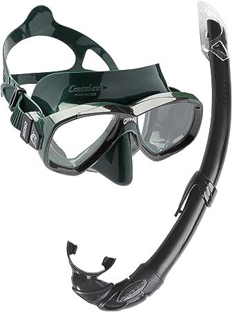 Cressi Perla Mare - Set para Snorkeling Mascara e Tubo, Fabricado