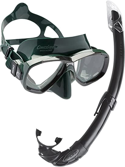 Cressi Adult Rondinella Juego de aletas gafas de buceo y snorkel