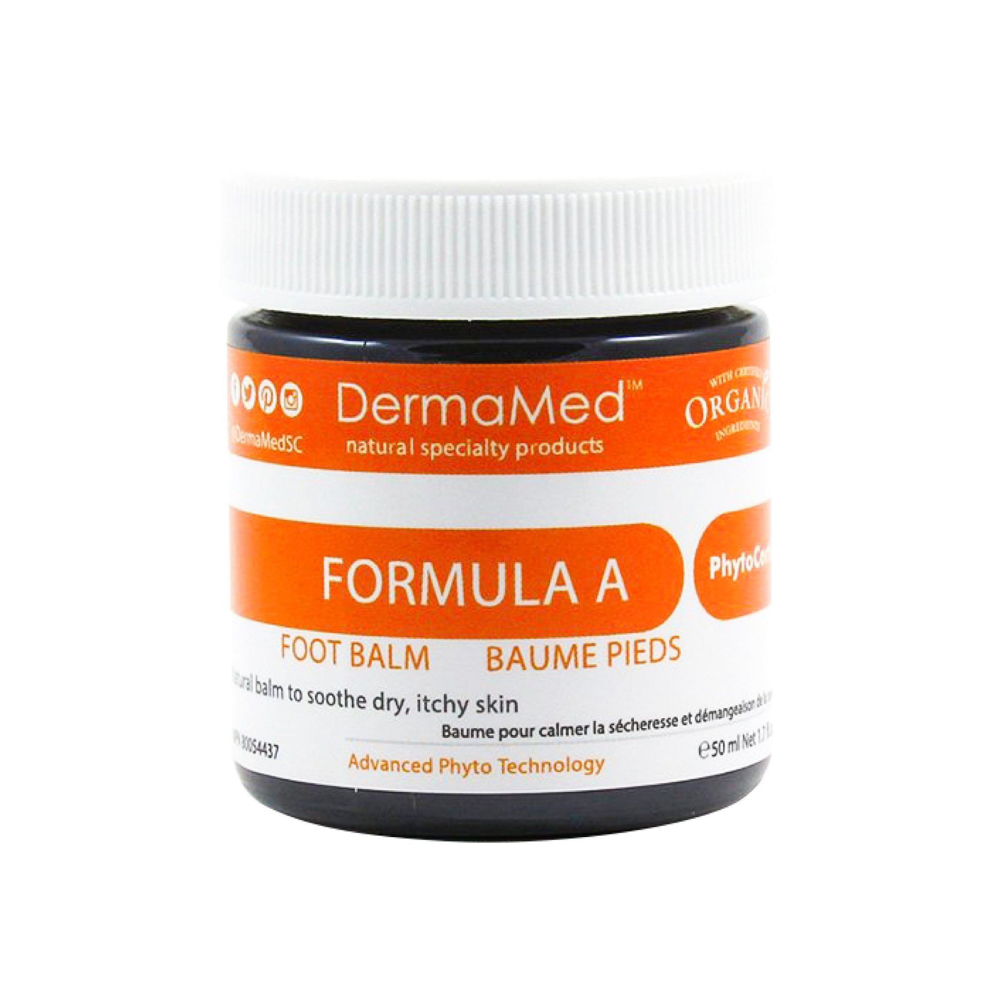 Best Foot Balm Fungal Infections Treatment DERMAMED Clinical Proven Natural Ingredients