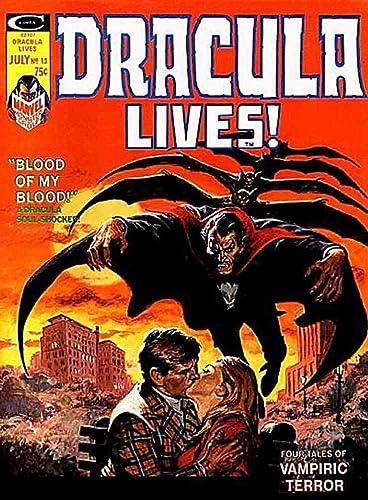 magazines Marvel Comics Dracula Lives