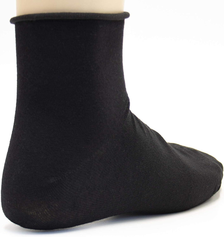 no aprieta Calcetines para Hombre y Mujer de algod/ón calcet/ín Confort de Color Liso Paquete de 12 Poligono Calcetines Cortos Deportivos sin el/ástico