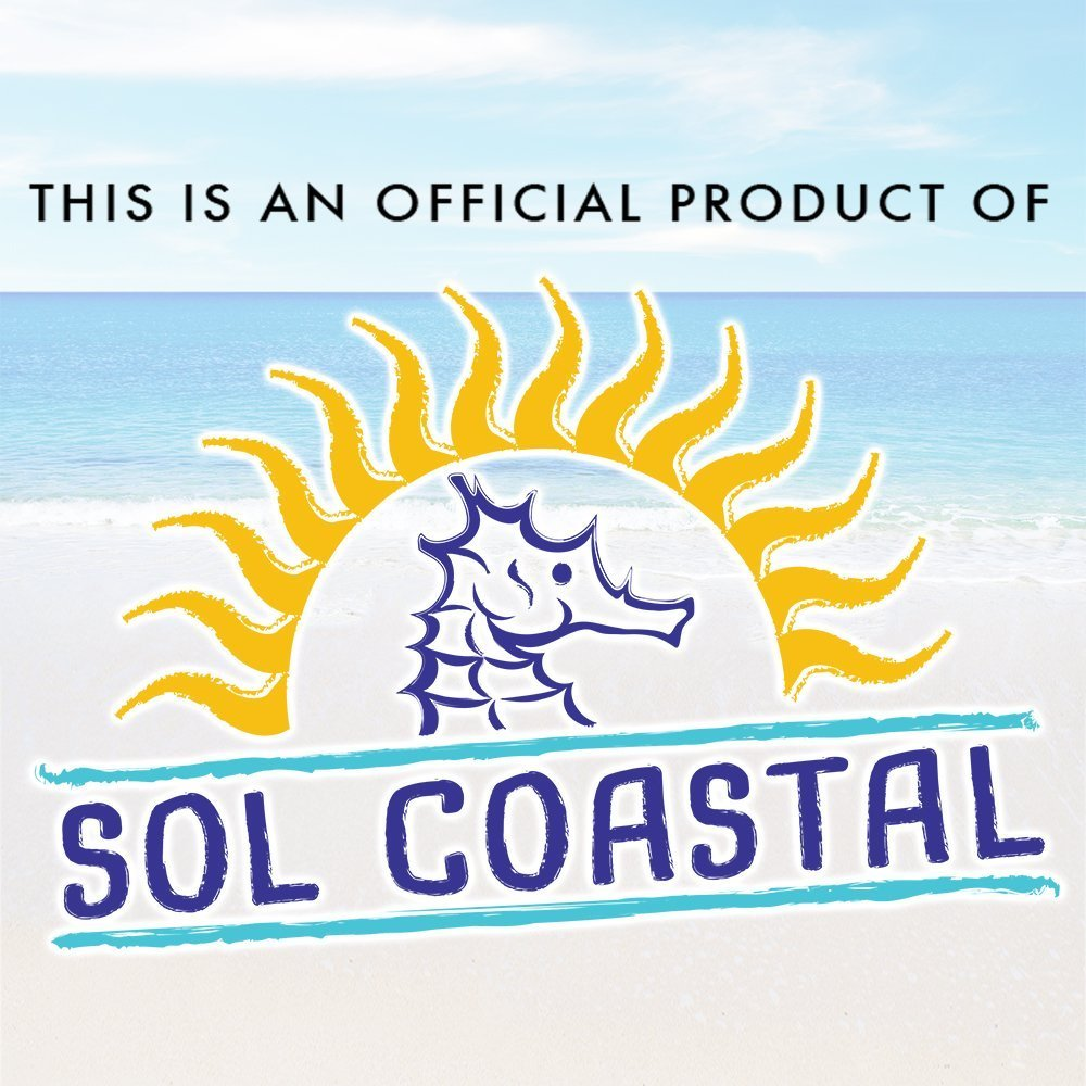 The Beach Behemoth Giant Inflatable 12-Foot Pole-to-Pole Beach Ball by Sol Coastal by Sol Coastal