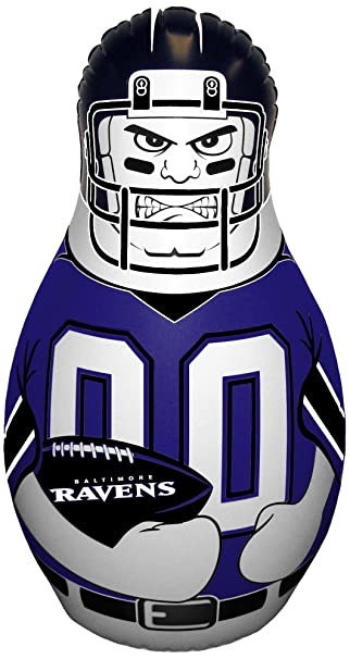 Amazon.com: Baltimore Ravens NFL Mini Tackle Buddy: Sports ...