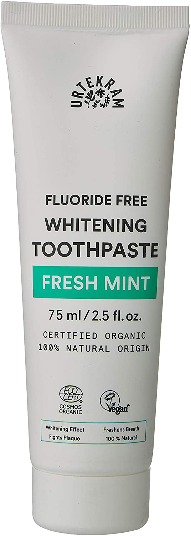 Urtekram Bio9 Toothpaste Organic, Fresh Mint, 75 ml