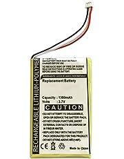 ABC Products® Sostituzione Batteria TomTom / Tom Tom GO 520, 530, 530T Live, 630, 630T, 720, 720T, 730, 730T, 920, 920T, 930, 930T, 940, 940T, X3, X40, X50, XL330, XL330S, XL 340, TM20, TM30, TM730T, TM740 Sat Nav / GPS / Navigatore etc