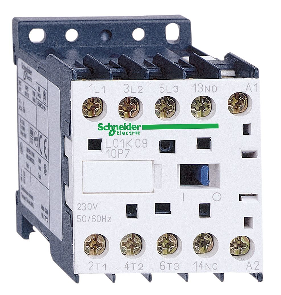 240VAC 9A IEC Mini Magnetic Contactr 1NO