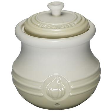 Le Creuset Stoneware Garlic Keeper, Dune