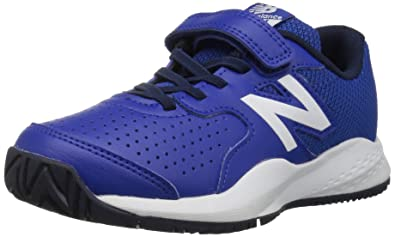 428d80dd22d1 New Balance Boys  696v3 Tennis Shoe Blue White 1 M US Little Kid