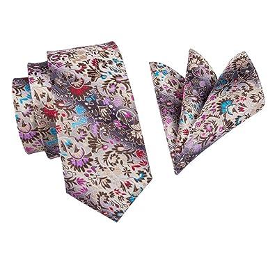 Corbata Floral Corbatas De Seda De Lujo Para Hombres 160 cm De ...