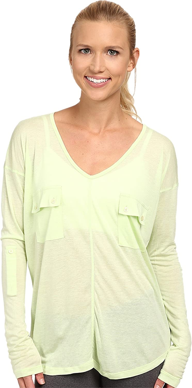 Tonic Women's Natasha Long Sleeve Top Plum T-Shirt