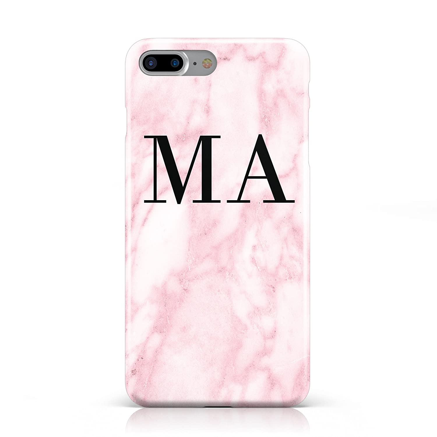 PERSONALISED PINKY MARBLE INITIALS MOBILE PHONE CASE Amazon