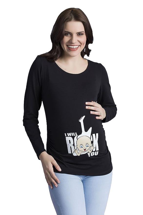 Camisetas de Premama rock roquera rockandroll