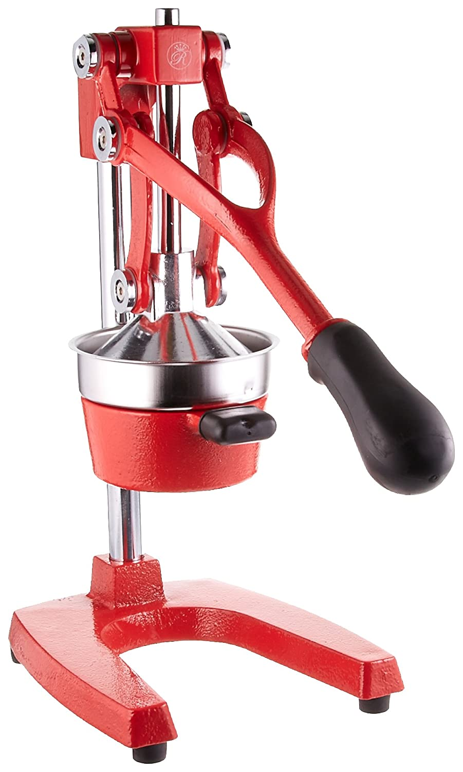 Royal Cook Roy JP-5006 Manual Lever Press Heavy Cast Iron Citrus Juicer, Red, One Size ROY JP5006