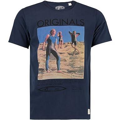 O'Neill Mens The 70's T-Shirt (M) (Ink Blue)