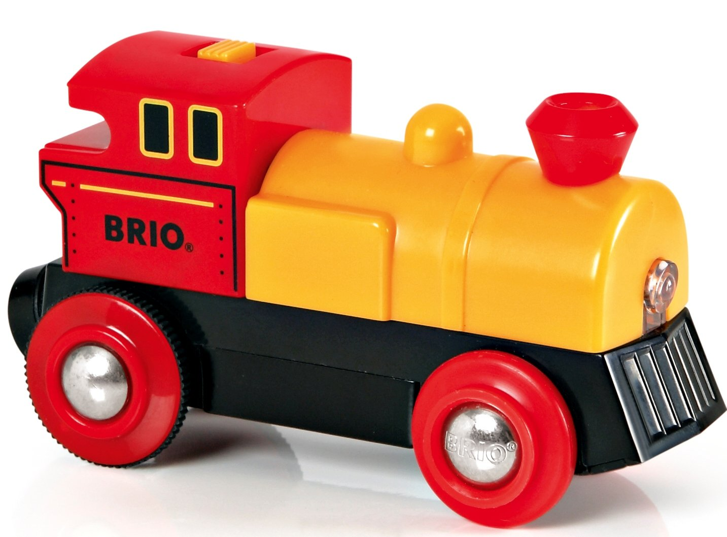 BRIO World - 33594 Two-Way Battery-Operated Engine | Train Toy for Kids Ages 3 and Up by Brio