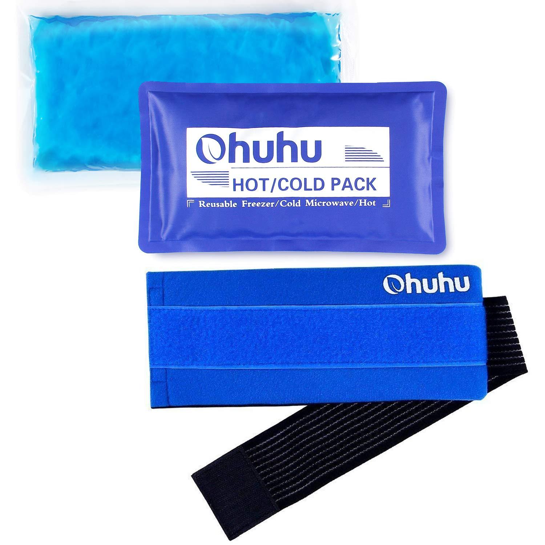 Amazon.com: Ohuhu - Bolsa de hielo para lesiones, 1: Health ...