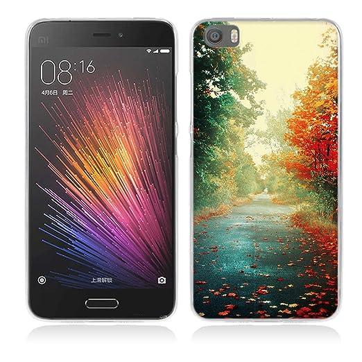 2 opinioni per Xiaomi Mi5 Cover, Fubaoda Alta qualità Bello e romantico paesaggio Serie TPU
