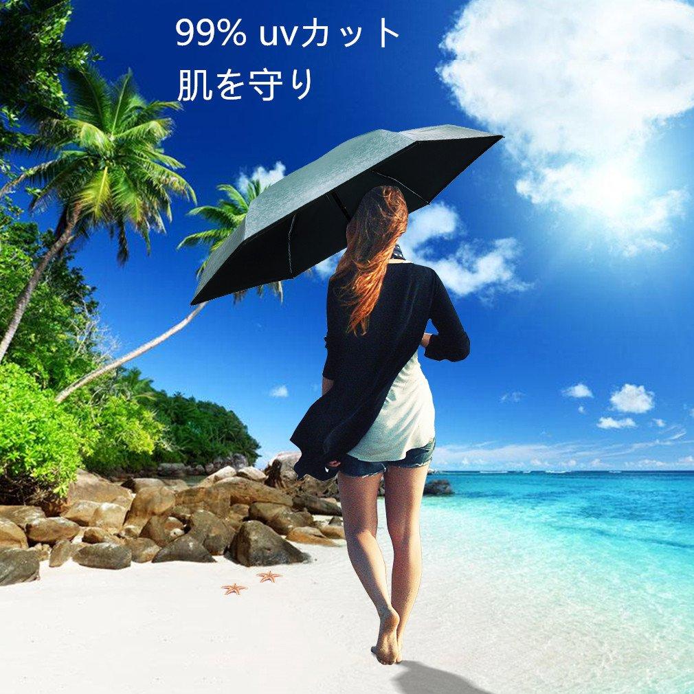 Corrdirec 日傘 晴雨兼用 完全遮光 超軽量 折り畳み傘 画像