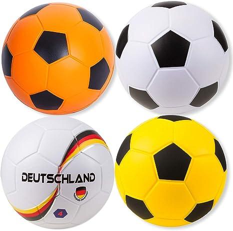 Sport-Thieme – Pelota sintética de fútbol, color Weiß, tamaño ...