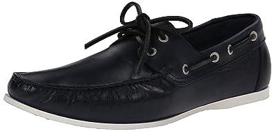 Kenneth Cole REACTION Men's Name Game Boating Shoe, Blue, ...