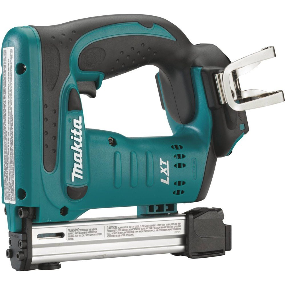 Makita XTS01Z 18V LXT Lithium-Ion Cordless 3/8'' Crown Stapler, Tool Only