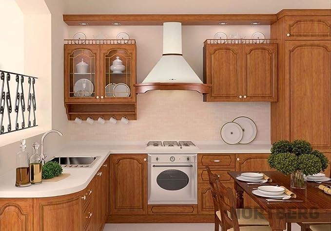 Nort Berg Rustic Campana extractora, pared, 90 cm: Amazon.es: Grandes electrodomésticos