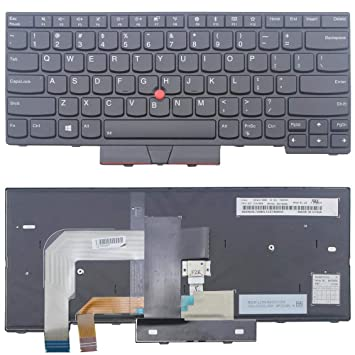 208acb18217a Amazon.com: New US Black English Backlit Laptop Keyboard Replacement ...